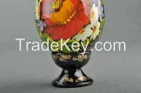 "Decorative egg with a holder ""Bird in flowers"""
