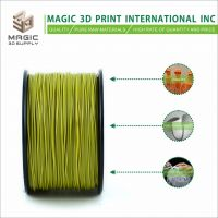 Magic 3D High quality ABS 1.75mm/3mm olive 3d printer filament
