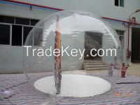 Transparent Inflatable Holiday Decoration Globe