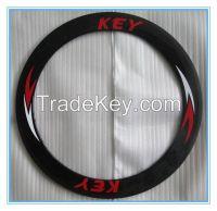 Free shipping Only 335g Ultra Light carbon wheels 24mm tubular carbon bike wheel