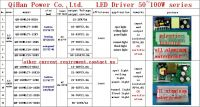 LED driver 80W 70W 60W 55W 2.4A  6-10S-8PX1 CE Qihan built in constant current power supply lighting transformer