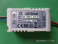LED driver 20W 18W 17W 16W 15W 14W 13W 12W 300mA 12-20S-1PX1 QiHan built in constant current power supply lighting transformer