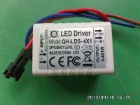 LED driver 5W 4W 3W 2W 0.3A 300mA 1-5S-1PX1 Qihan built in constant current power supply lighting transformer