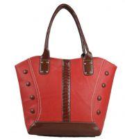China supplier fashion PU leather lady handbags