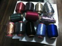 mixed colors metalic yarn