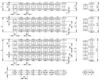 American Standard Super Heavy Duty Roller Chain (H)