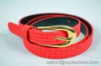 New Design PU Belt For Lady ,PU Belt Manufacturer,Fashion PU Belt