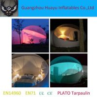 Inflatable Transparent tent bubble tent for camping
