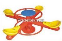 preschool spring  Seesaw / Plastic Rocking Horse/ Animal Chair