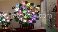 fibre led  light lotus lamp decorative led lights