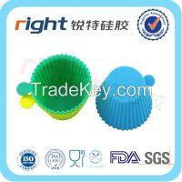 LFGB/FDA Mini silicone Cupcake