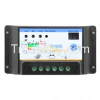 30A Solar Controller with Battery Option and Voltage settable light and dual timer control intelligent solar regulator for PV system, S30I