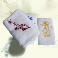 Hot sale pure cotton embroidered towel