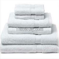 Terry White Hotel Towel