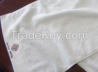 Hotel Hand Towel With Dobby Custom Logo