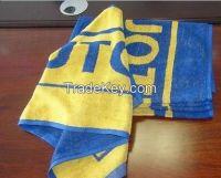Custom design fitness towel