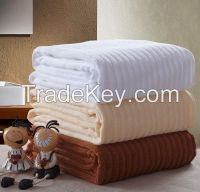 stain bath towel