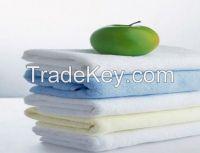 Plain dyed cotton towel