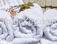 White 100%Cotton Hotel Towel Set