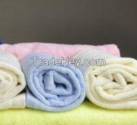colorful plain towel