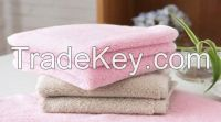 Colorful Plain Face Towel