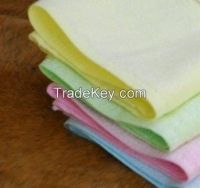 Terry colorful hand towel