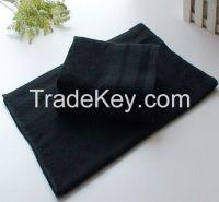 High Quality Black Towel