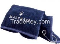 Dark Navy Golf Towel