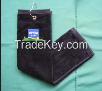 Cotton embroidery golf sports towel