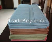 Colored Stain Border Towel