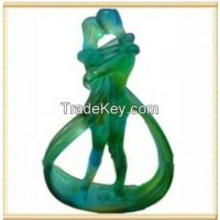 Liu li wedding gift for couple and lovers --endless love crystal decorations