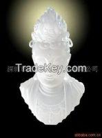 Colored Glaze Kuan Yin Buddha