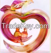 Wholesale Liu li Art Craft Peace and Happiness for Wedding Gift