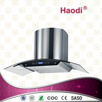 2013 Newest Design Curve Wall Mounted Kitchen Range Hood HH-9005