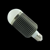 9W Led Bulb Lathe Aluminum COB E27