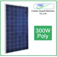 Find CE ISO Approved 300W Poly Solar Panels From China Supplier