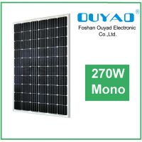 Cheap Price 270W Mono Solar Panel From China Manufacturer