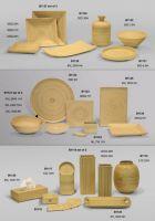 Spun bamboo products