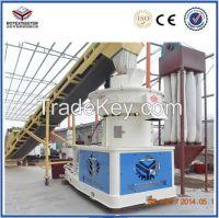 vertical ring die wood pellet machine / machines for make pellet woo