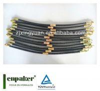 high quality zhuji enpaker flexible sae j1401 hydraulic brake hose sae j1402 air brake hose