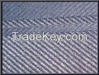 Cotton warp linen