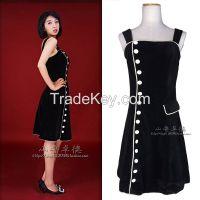 Little black A-line Party Dress