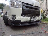 HIACE Bumper body kit