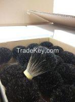 badger hair knot