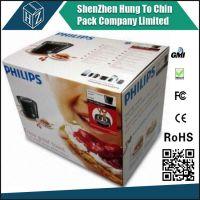 Retailer foldable color corrugated box hot sale corrugated paper box