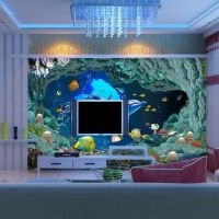 Post free anime cartoon wallpaper bedroom living room children's room