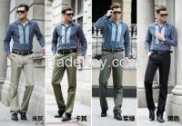 2014 new style men's pants of 100%cotton