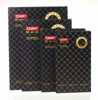 Black Brown PU/PVC Leather Cover Business Diary