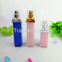Rectangle plastic acrylic cosmetic airless bottles container