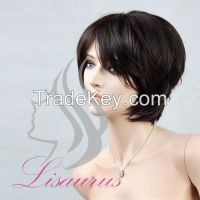 Lisaurus-J Natural Looking New Beauty Short Synthetic Wigs, Wholesale P